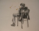 Man on Wooden Chair1a